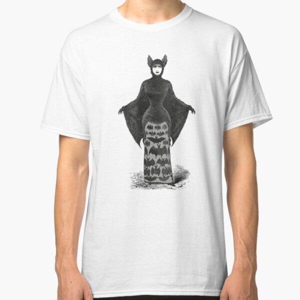 Victorian Bat Woman | Victorian Halloween Costume | Victorian Bat Costume | Classic T-Shirt
