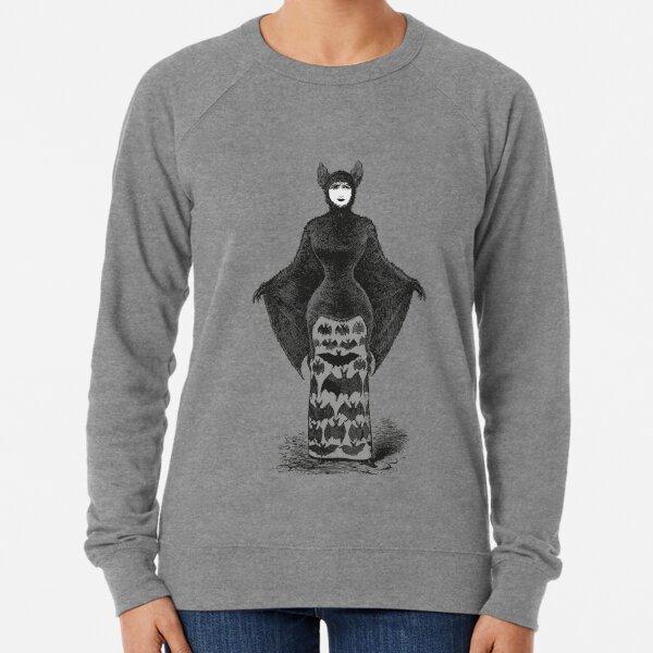 Victorian Bat Woman | Victorian Halloween Costume | Victorian Bat Costume | Lightweight Sweatshirt