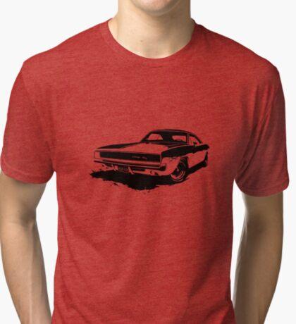 Charger R/T Stencil Tri-blend T-Shirt