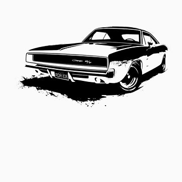 Charger R/T Stencil by ghost650