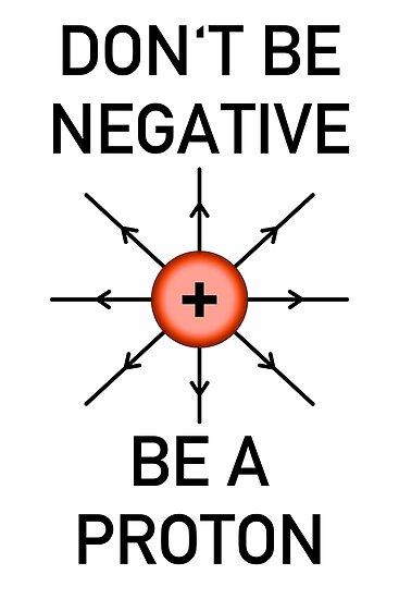 Sei nicht negativ, sei ein Proton! von -Andropov-