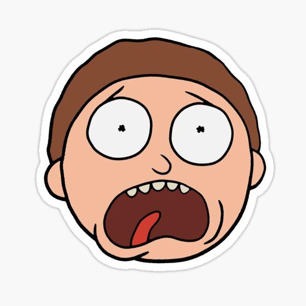 Morty Head Sticker