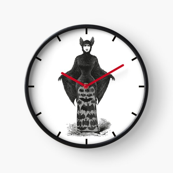 Victorian Bat Woman | Victorian Halloween Costume | Victorian Bat Costume | Clock
