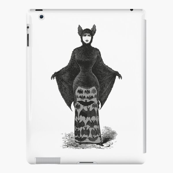 Victorian Bat Woman | Victorian Halloween Costume | Victorian Bat Costume | iPad Snap Case