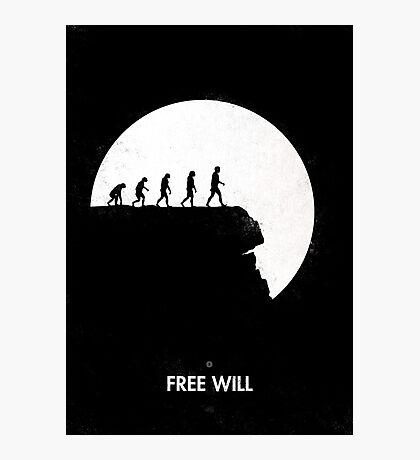 99 steps of progress - Free will Photographic Print