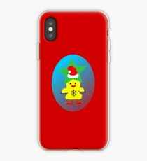 ★㋡ټHipHop Santa Chicken iPhone & iPod Cases㋡★ iPhone Case