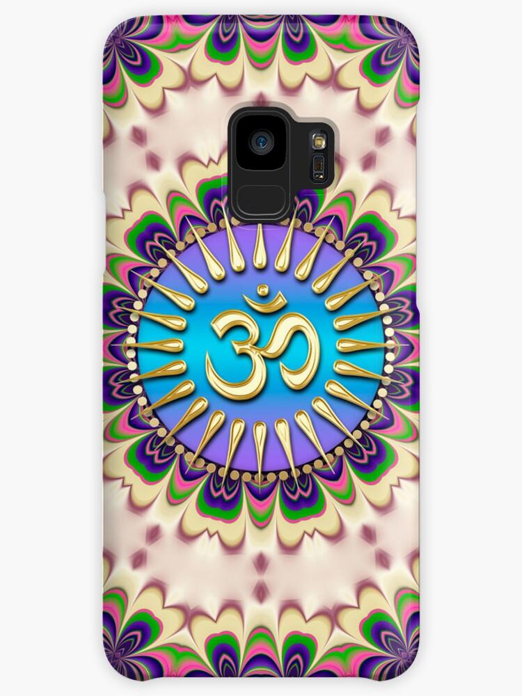 New Age Energy Golden OM Phone Case by webgrrl