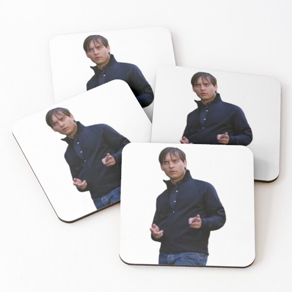 Cool Guy Tobey Coasters (Set of 4)