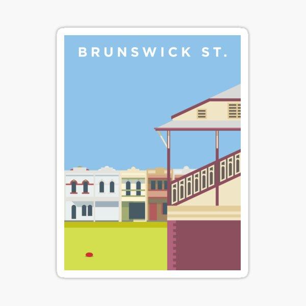 Brunswick St. Sticker
