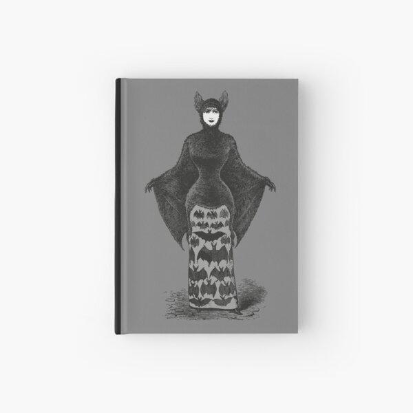 Victorian Bat Woman   Victorian Halloween Costume   Victorian Bat Costume   Hardcover Journal