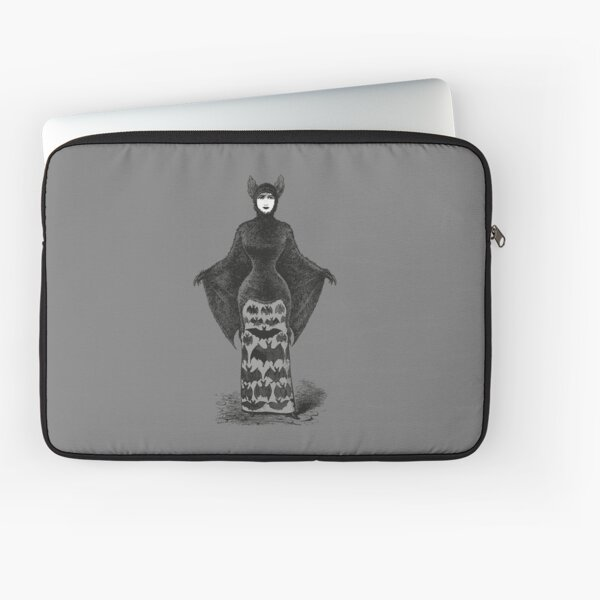 Victorian Bat Woman | Victorian Halloween Costume | Victorian Bat Costume | Laptop Sleeve