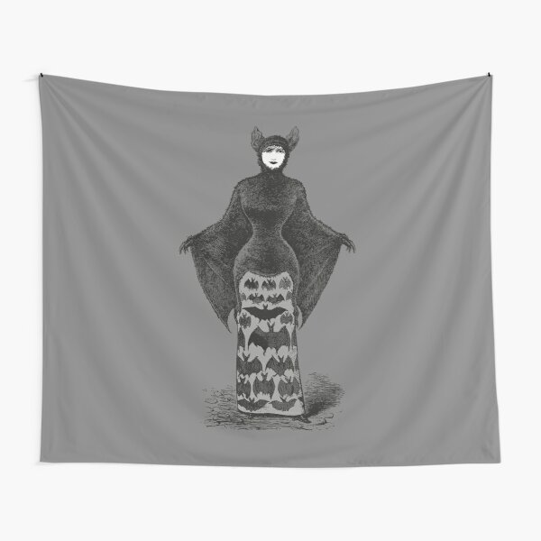 Victorian Bat Woman | Victorian Halloween Costume | Victorian Bat Costume | Tapestry