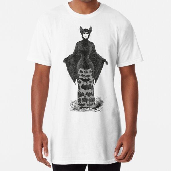 Victorian Bat Woman | Victorian Halloween Costume | Victorian Bat Costume | Long T-Shirt