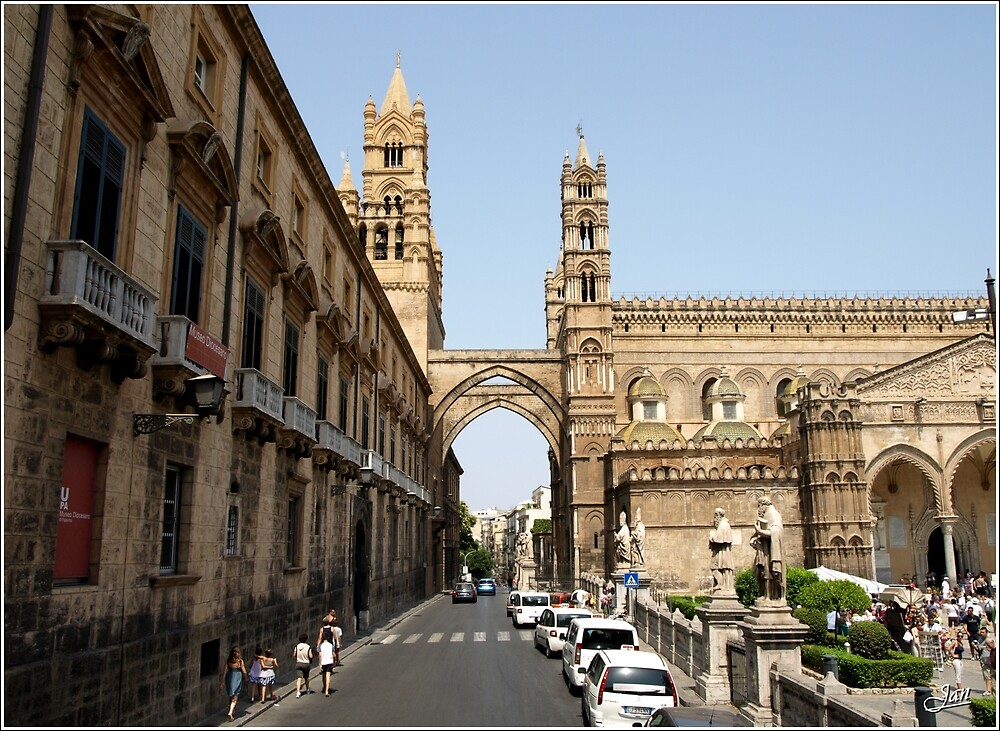 Palermo, City tour by Janone
