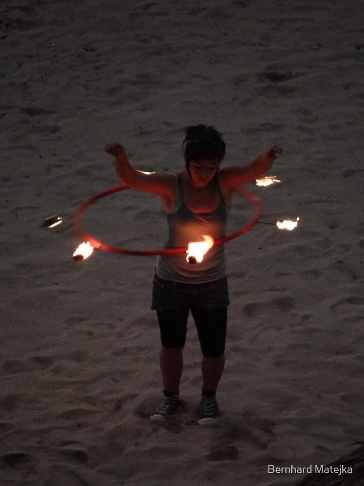 Dancing With The Fire - Bailando Con El Fuego by Bernhard Matejka