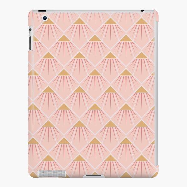 Art Deco Pink Cone Flower iPad Snap Case