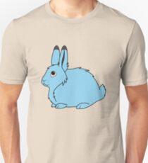 Light Blue Arctic Hare Unisex T-Shirt