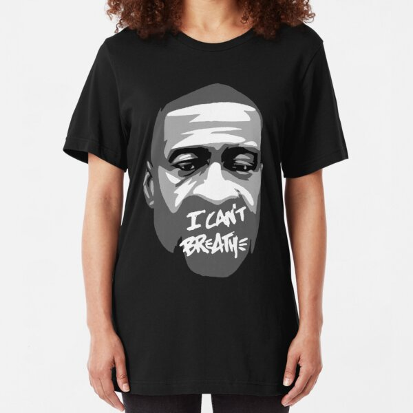 I can't breathe Slim Fit T-Shirt
