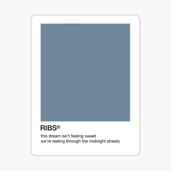 ribs Sticker