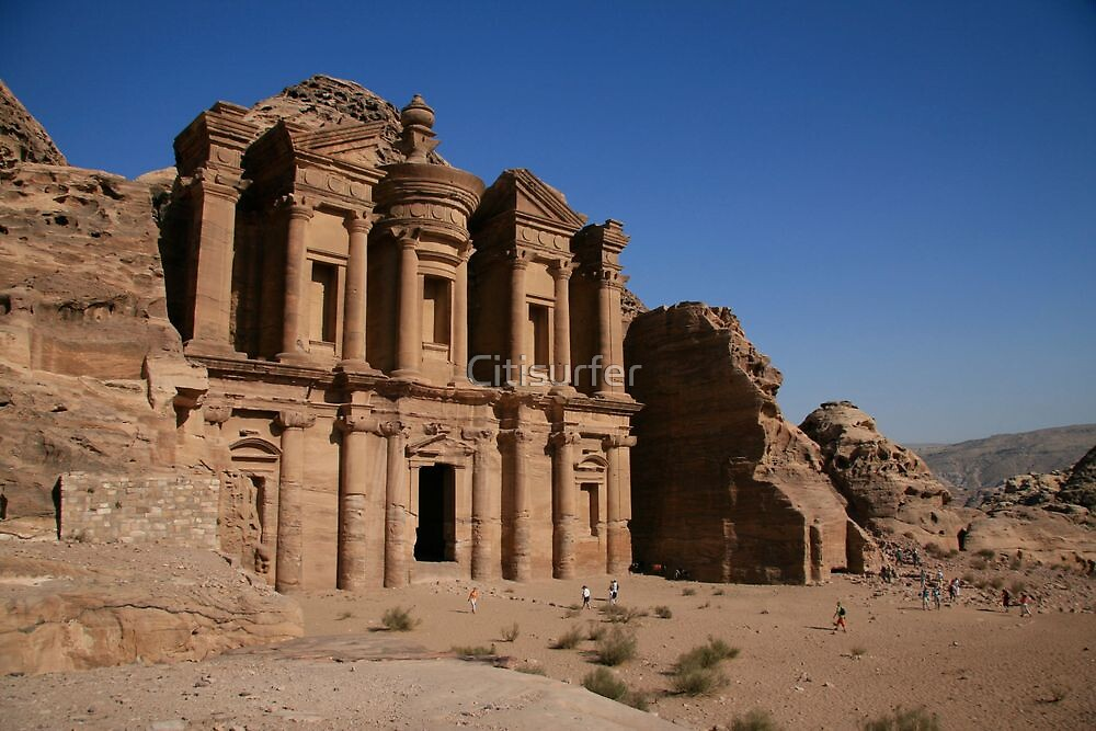 Monastery, Petra by Citisurfer