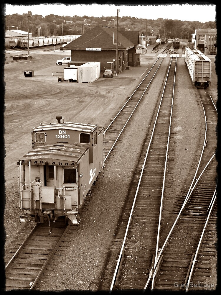 The Lonely Caboose by Greg Belfrage