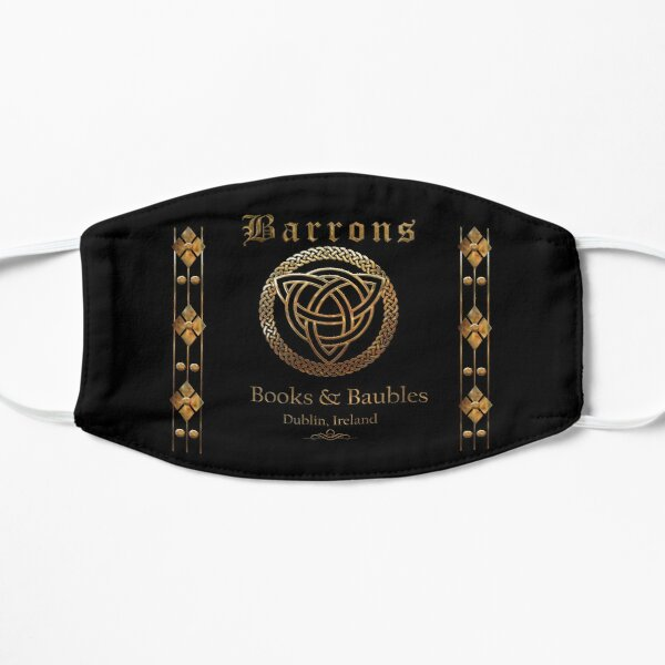 Barrons Books & Baubles Face Mask Mask