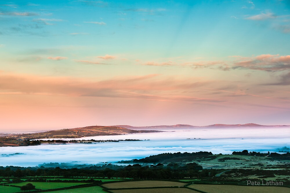West From Pew Tor by Pete Latham