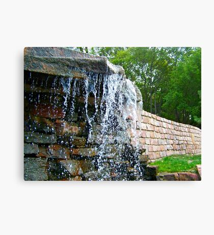 Trickling Waters Canvas Print