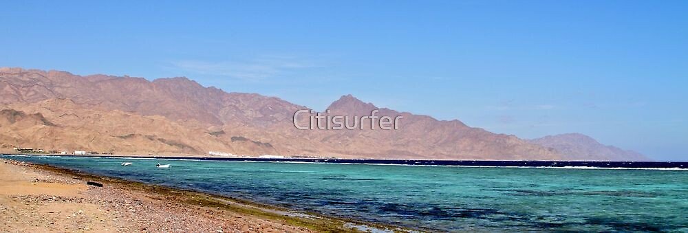 Red Sea in Egypt by Citisurfer