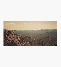 wide open Photographic Print