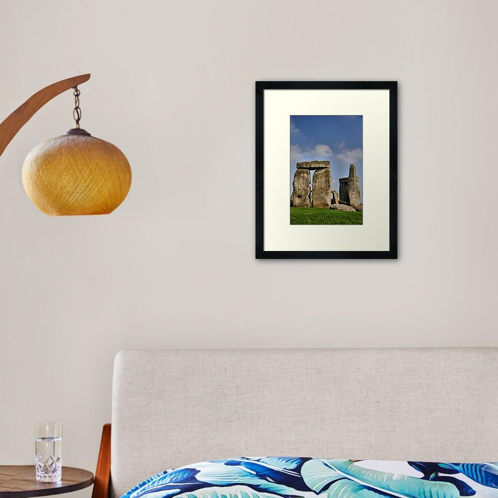 Stone Henge #1 Framed Art Print