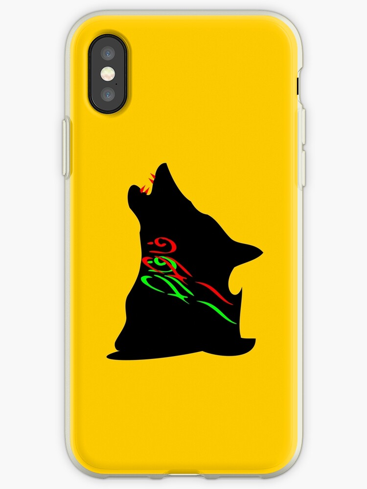 ۞»★Howling Wolf iPhone & iPod Cases★«۞  by Fantabulous