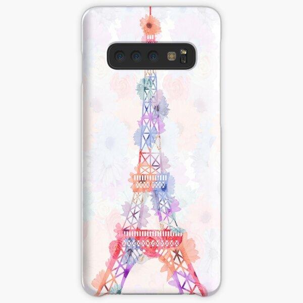 Flower Eiffel Tower Paris Samsung Galaxy Snap Case
