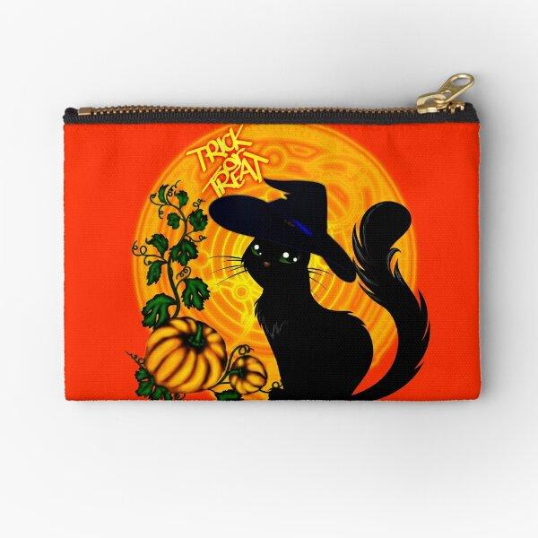 Halloween Katze - Süßes oder Saures! Täschchen