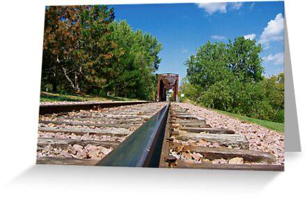 Lonesome Rails by Greg Belfrage