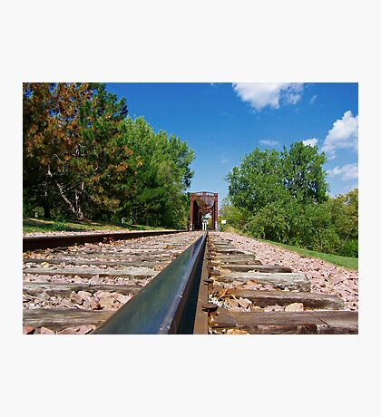 Lonesome Rails Photographic Print
