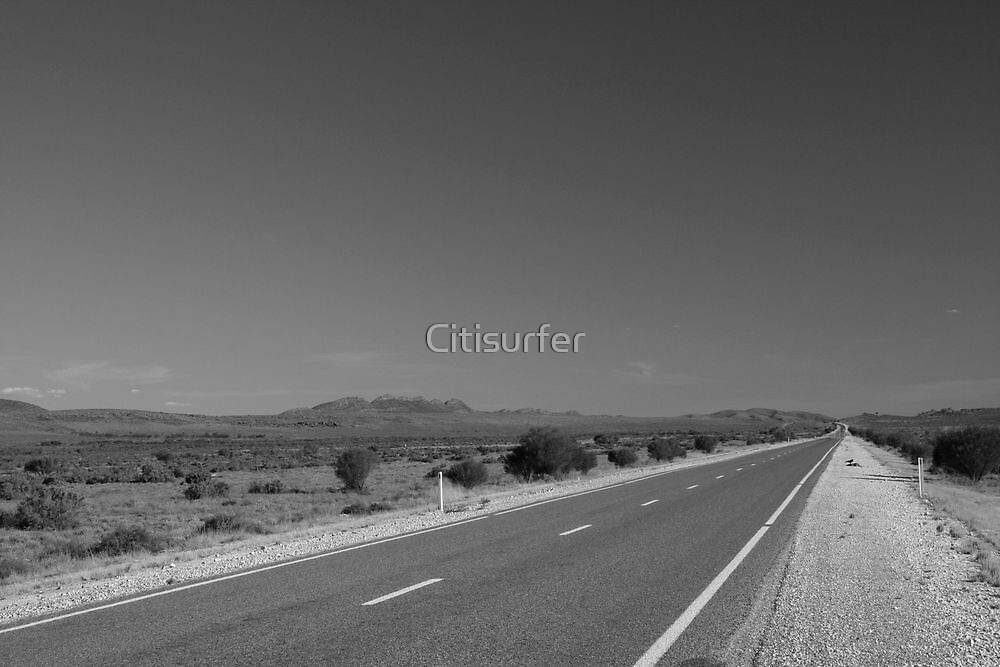 The long road home by Citisurfer
