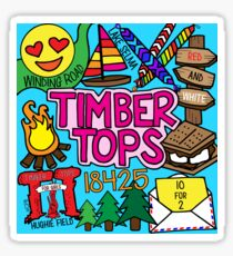 Holz Tops Sticker
