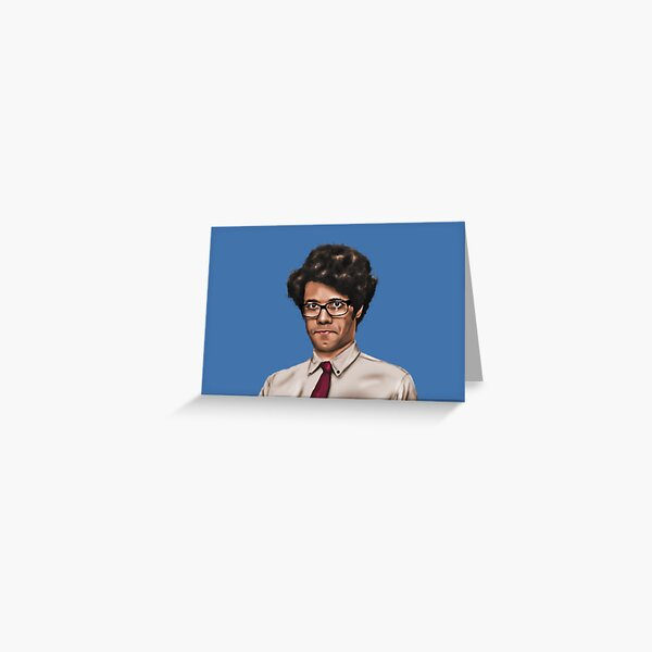 Richard Ayoade Greeting Card