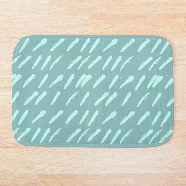 Rainy day Bath Mat