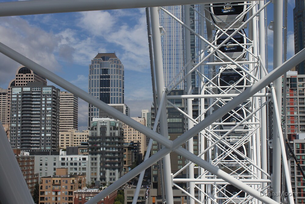 View from the Seattle Great Wheel..... by DonnaMoore