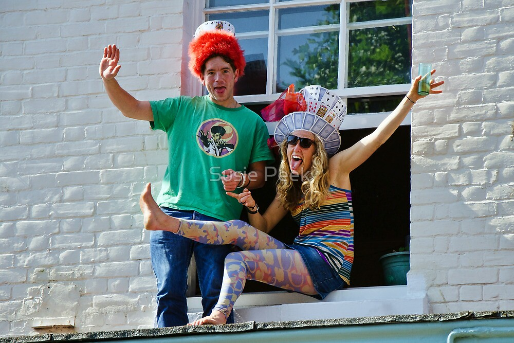 Mad Hatters ~ Bridport Hat Festival by Susie Peek