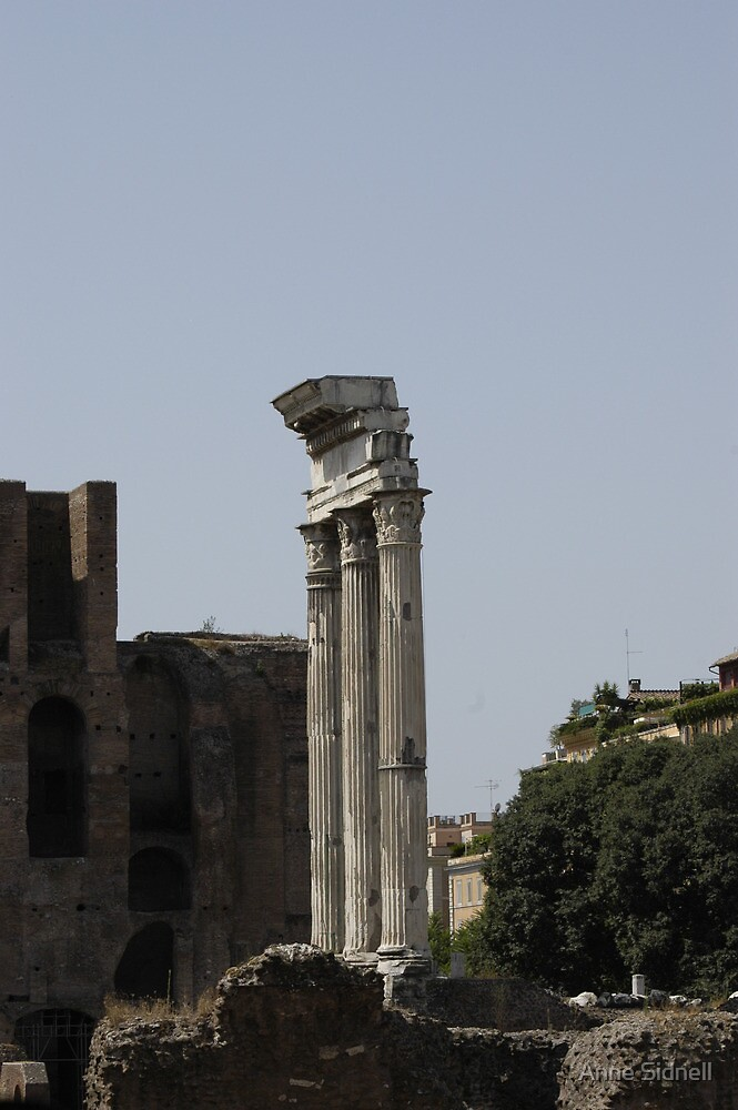Rome 1 by Anne Sidnell