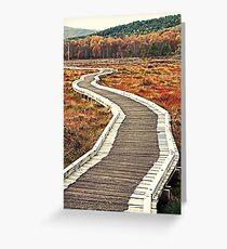 The Bridge (Muir of Dinnet, Aberdeenshire, Scotland) Greeting Card