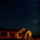 Milky Way Over The Old Schoolhouse by A.M. Ruttle
