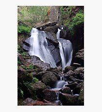 Waterfall (Burn O Vat, Aberdeenshire) Photographic Print