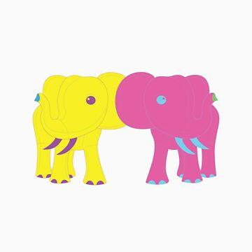 elephants by tarriansmith