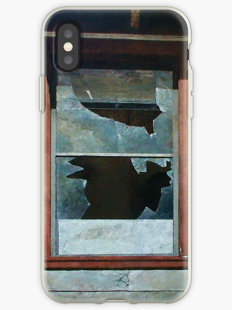 Mare Island Broken Window by Kirt Hardcastle