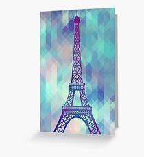 Eiffel Tower Paris Greeting Card