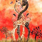 Giraffe Love by Kay Patterson